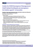 Infant Feeding in an Emergency.