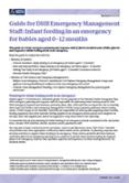 Infant Feeding in an Emergency.