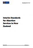 Interim Standards for Abortion Services in New Zealand.