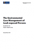 The Environmental Case Management of Lead-exposed Persons.