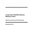 Lung Cancer Multidisciplinary Meeting Toolkit