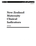 New Zealand Maternity Clinical Indicators 2013