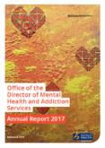 Office of the Director of Mental Health Annual Report 2017.