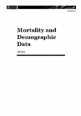 Mortality and Demographic Data 2011