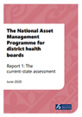 The National Asset Management Programme for district health boards: Report 1.