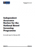 Independent Assurance Review for the NBSP.