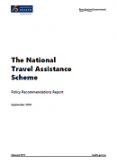 The National Travel Assistance Scheme: Policy Recommendations Report