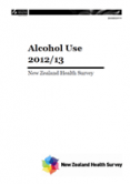 Alcohol Use 2012/13.