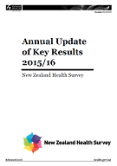 Annual Update of Key Results 2015/16: New Zealand Health Survey.