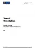Sexual Orientation.