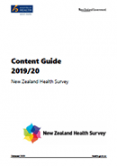 Content Guide 2019/20: New Zealand Health Survey.