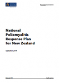 National Poliomyelitis Response Plan for New Zealand.