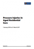 Pressure Injuries in Aged Residential Care.