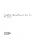 Rapid Audit of Contact Tracing for COVID-19 in New Zealand.