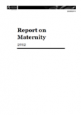 Report on Maternity, 2012
