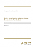 Review of the Benefits and Costs of Water Fluoridation in New Zealand