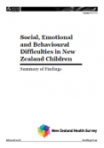 Social, Emotional and Behavioural Difficulties in New Zealand Children: Summary of Findings.