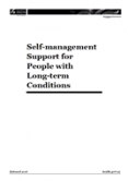 Self-management Support for People with Long-term Conditions