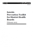 Suicide Prevention Toolkit.