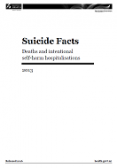 Suicide Facts: Deaths and intentional self-harm hospitalisations 2013 cover image