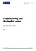 Sustainability and the Health Sector.