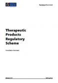 Therapeutic Products Regulatory Scheme: Consultation document.