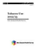 Tobacco Use 2012/13: New Zealand Health Survey