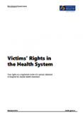 Victims' Rights in the Health System.
