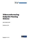 Videoconferencing Endpoint Naming Scheme.