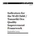 Well Child / Tamariki Ora indicators cover