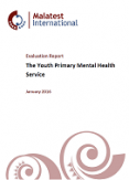 Evaluation Report: The Youth Primary Mental Health Service